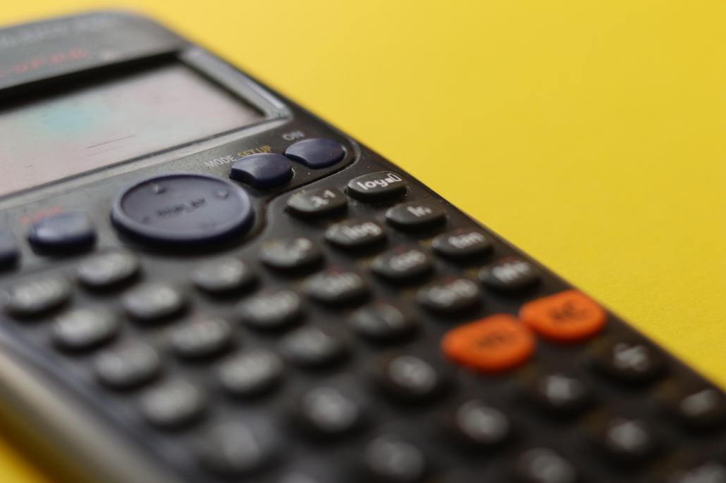 Taschenrechner zur Preiskalkulation